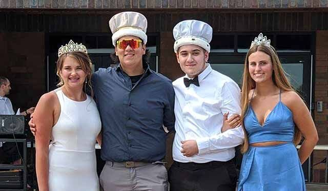 IHS prom - royalty