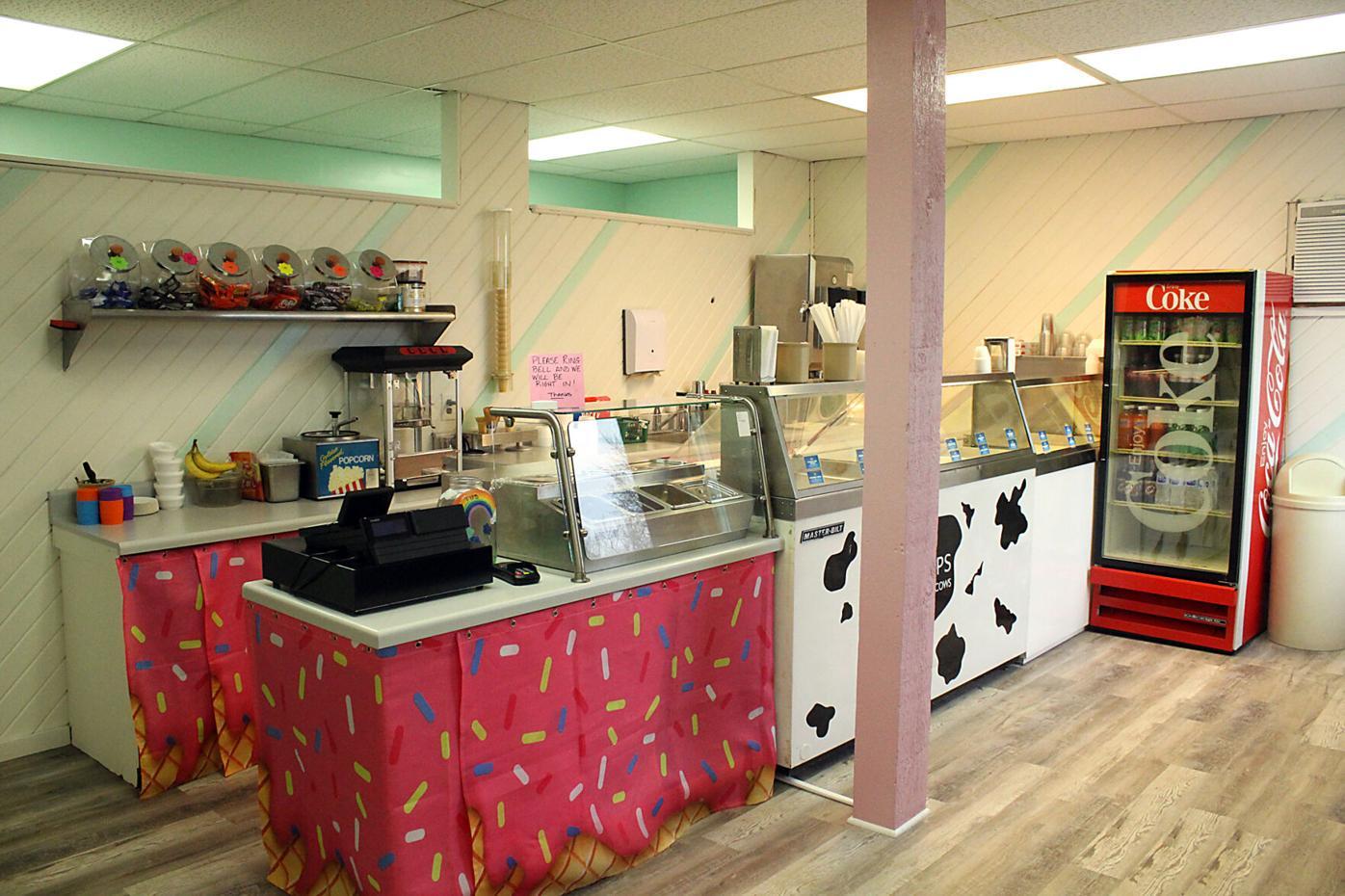 Ice cream parlor renovated
