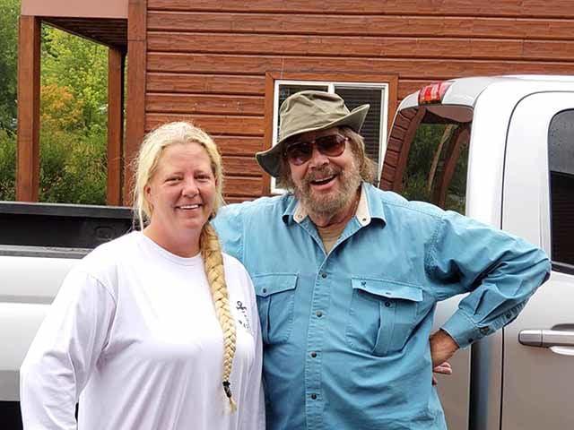 Hank Williams Jr. and Jodi Crowell