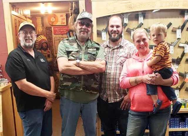 Hank Williams Jr. at Boone's Fine Guns