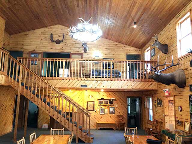 Mille Lacs Lodge - the great room