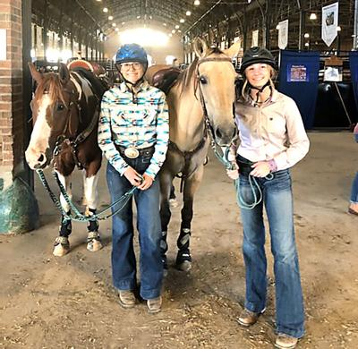 4-Hers at state 4-H Horse Show