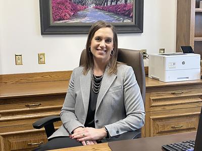 New First National Bank of Milaca President Rachelle Nelson.