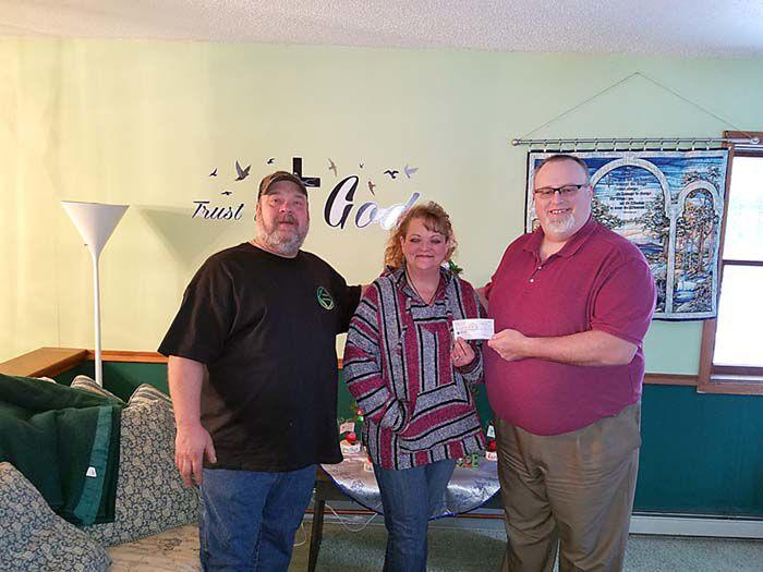 Glory Baptist Hunters' Supper donations