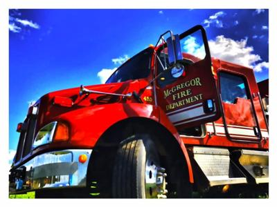 McGregor moving forward new fire hall