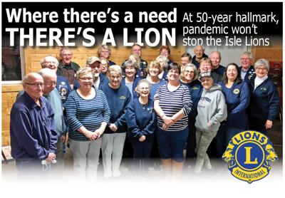 The Isle Lions Club celebrates 50 years at the Wahkon Inn