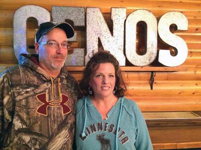 Geno's - Co-owners Geno Falconer and Heidi Farrell