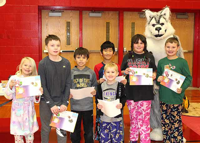 Nyquist Elementary Students of the Month - December