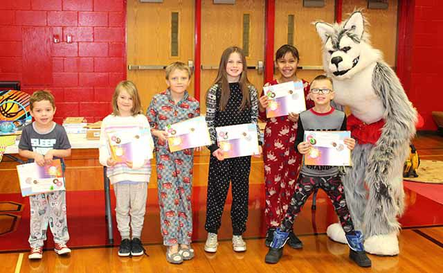 Nyquist Elementary Students of the Month - November