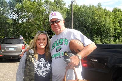 Amanda Brandt and Tommy Kramer