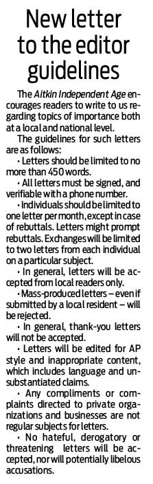 New letter to the editor guidelines