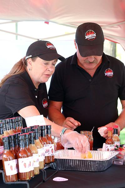 Goff's Bay Catering & Sauce Co. wows salsa fest attendees