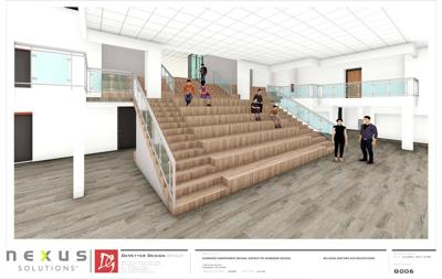 Part of the planned work for McGregor Schools