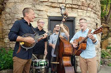 The Barley Jacks will headline the first annual Bluegrass Festival at Ruttger's.