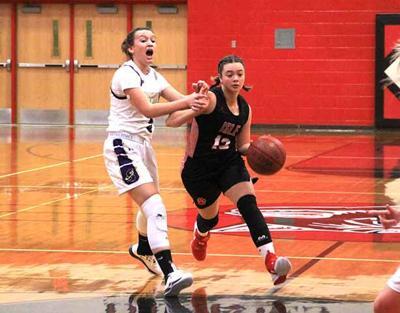 IHS Girls Basketball - Carly Gallion