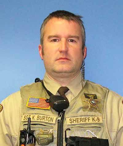 Mille Lacs County Sergeant Kyle Burton