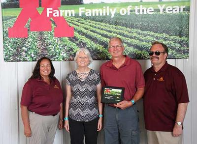 Mille Lacs County Farm Family of the Year 2019