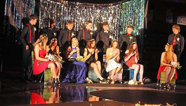IHS Homecoming royalty candidates