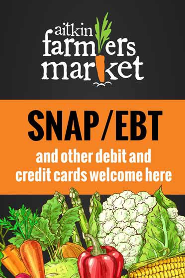 EBT, debit and credit cards now acepted at farmers' market
