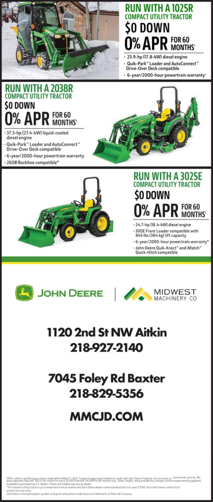 Midwest Machinery 2-6-2021