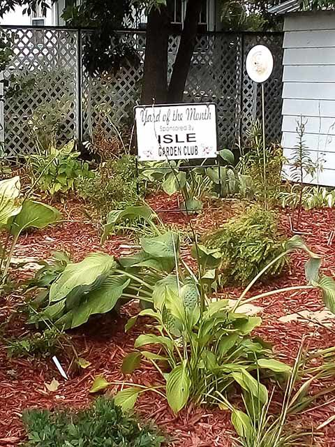 Yard of the Month - September 2019