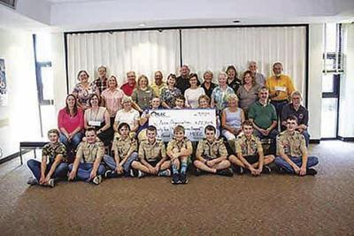 Operation Round-Up makes donation
