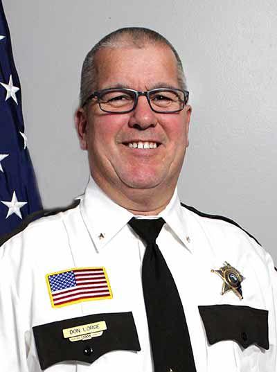 Mille Lacs County Sheriff Sherrif Don Lorge