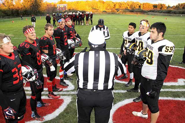 Ihs Ohs Football Coin Toss Message Media Schools