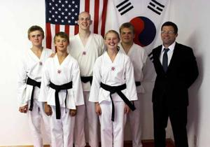 Tae Kwon Do black belts