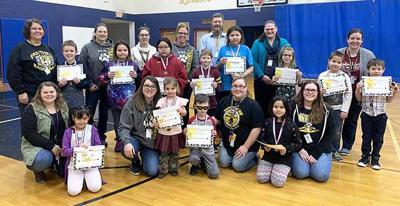Onamia Elementary Students of the Month - December