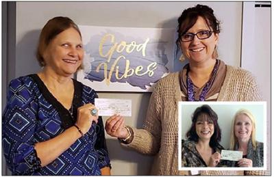 Aitkin Women of Today donate