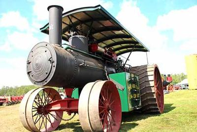 Rumely steam tractor