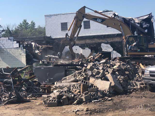 Turkey Plant Demolition