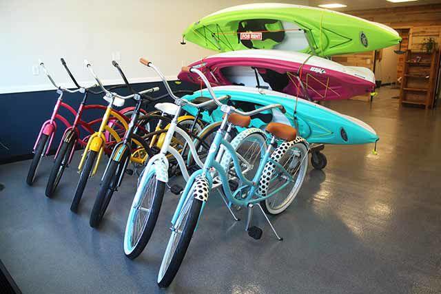 Naomi's Bike and Paddle Rental