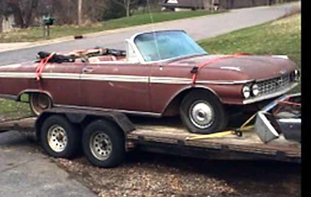 1962 Ford Convertible Galaxie 500 Sunliner