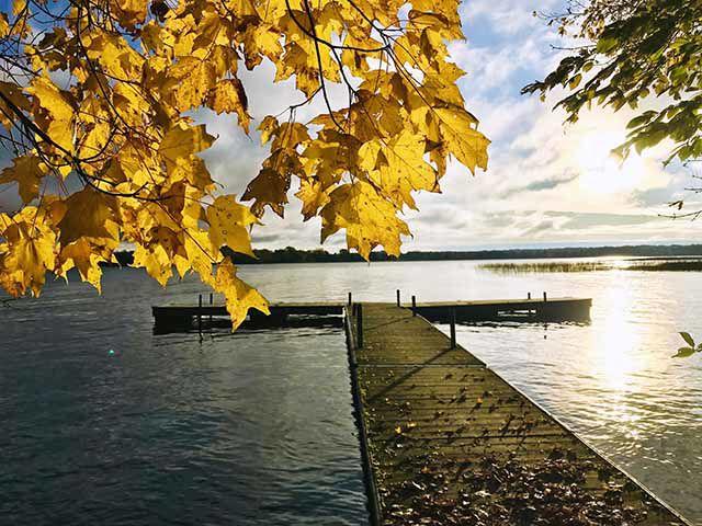 Autumn splendor on Mille Lacs