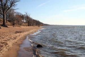 Mille Lacs' sandy shoreline west of Malmo on the northeast corner of the lake makes combating erosion with landscaping a challenge.