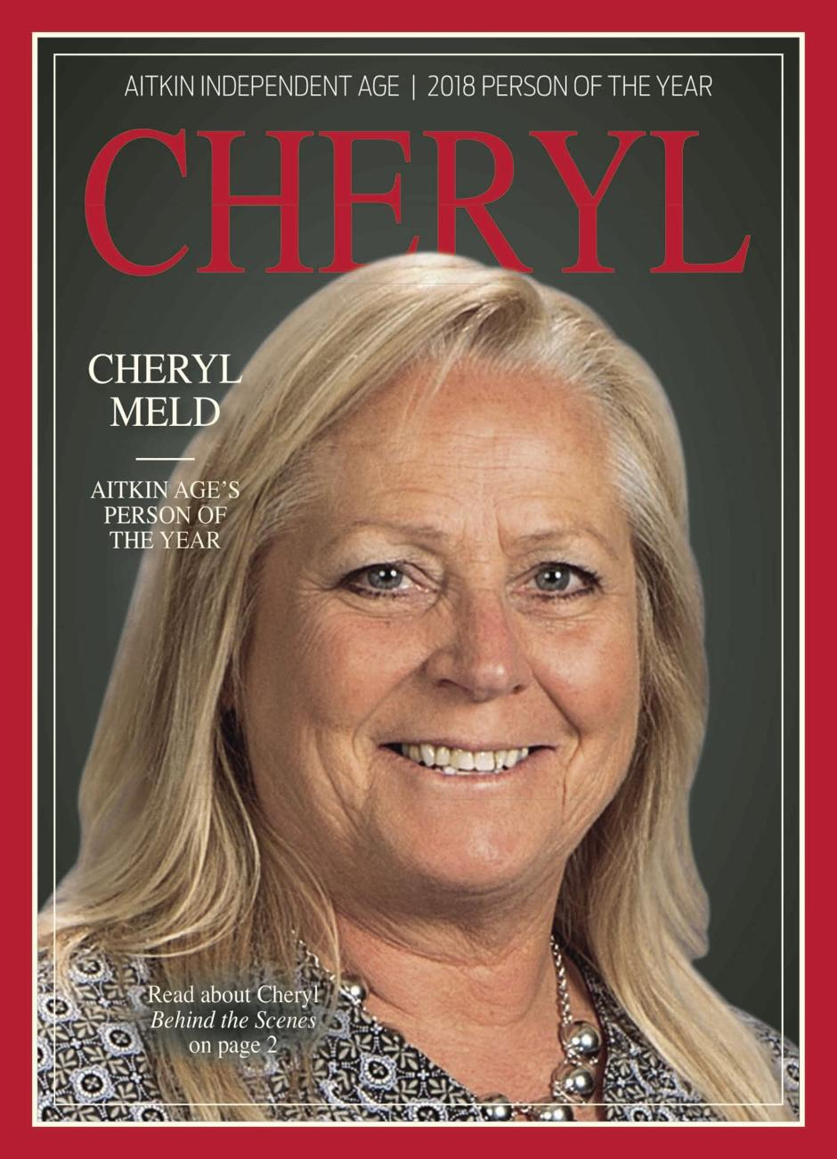 Cheryl Meld was selected the 2018 person of the year.""