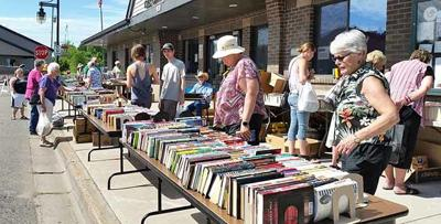 Isle Days library book sale