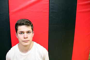 Aitkin wrestling has one lone senior. Nathan Rom will wrestle at 132.