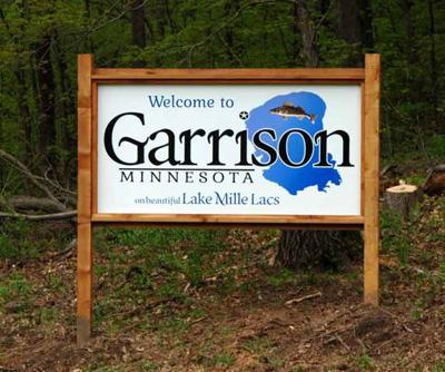 City of Garrison sign