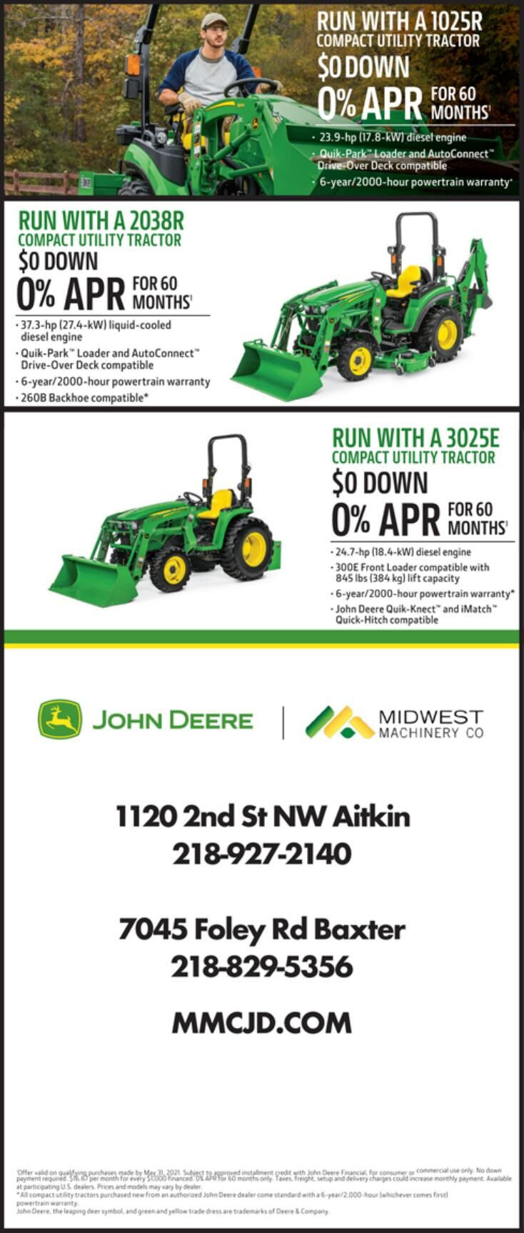 Midwest Machinery 5-1-21