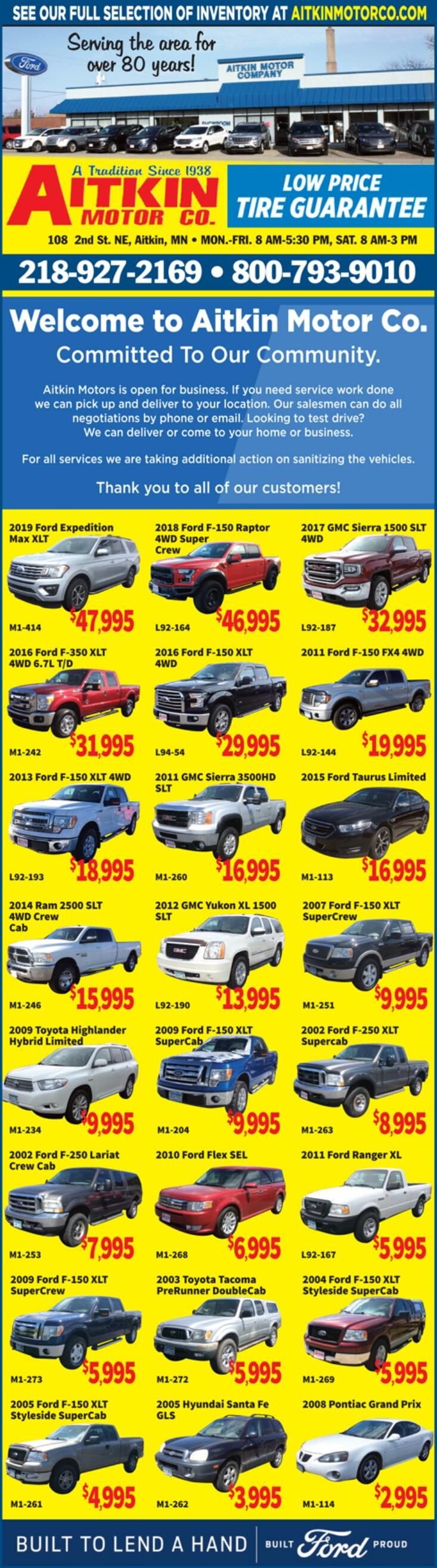 Aitkin Motors 060620