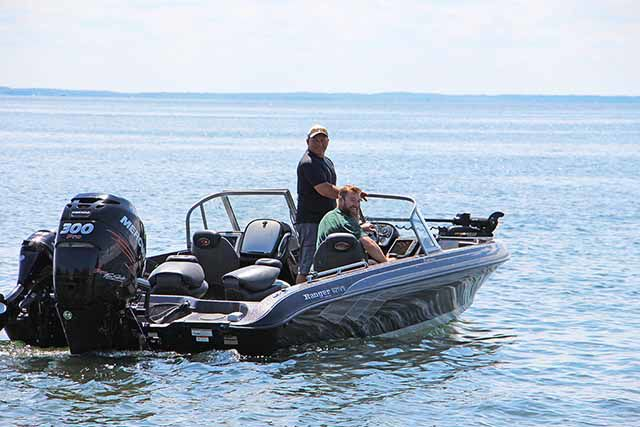 Mille Lacs Lake anglers