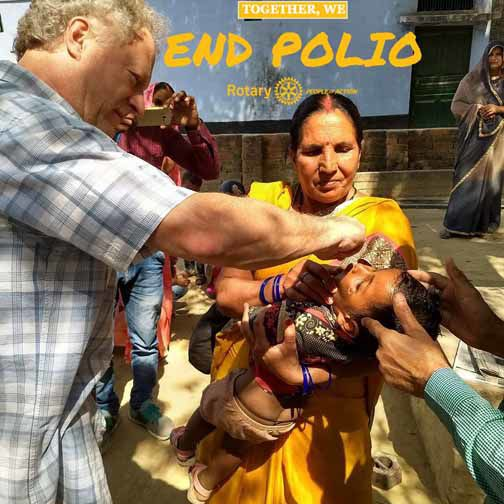 Together, We End Polio