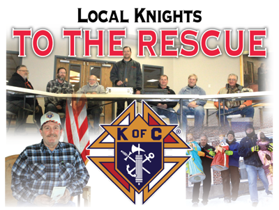 Local knights to the rescue