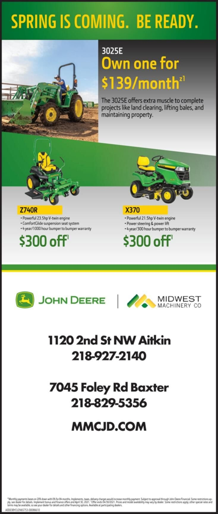 Midwest Machinery 3-6-2021