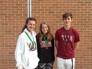 Three Gobblers medal at Sections