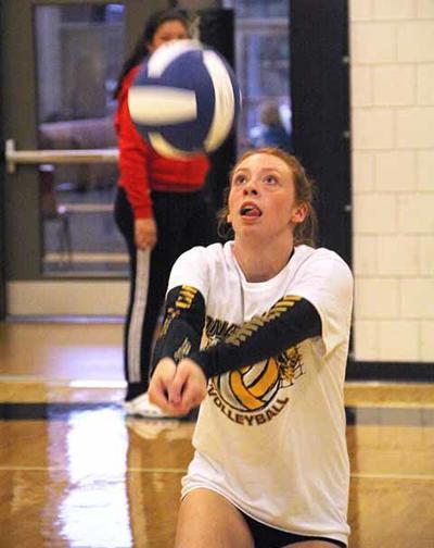 OHS Volleyball - Kailee Barnett