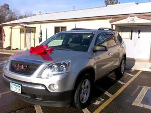 This 2008 GMC SUV was given to the Ralph family Dec. 15.